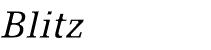 Blitz-Sauber Logo
